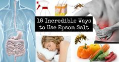 Epsom salt is something that every household should have on hand and use regularly. It is an amazing substance that can benefit your health and your home...