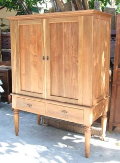 Turned Legs Armoire   Google Search
