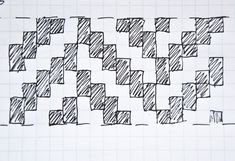 Continuing with my best of weaving techniques, I wanted to add another one of my favorite patterns, the Herringbone. This looks similar to a twill weave, but the difference is the pattern is the diago Paper Weaving, Tapestry Weaving, Loom Weaving, Tapestry Wall, Weaving Process, Weaving Techniques, Weaving Wall Hanging, Wall Hangings, Weaving Patterns