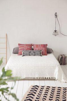 Simple tribal bedroom decor