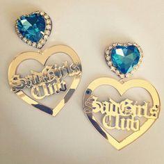 fashion, style, earrings, nikki lipstick, acrylic earrings