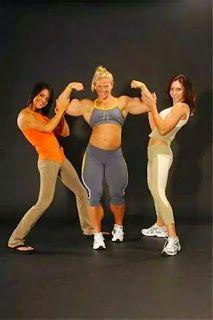 Donne con i muscoli: Non ce la faranno mai..