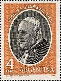 1963 Argentina - Papa Su Santidad Juan XXIII
