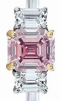 Tiffany & Co. Pink Diamond Ring