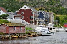 Brigus, Newfoundland, Canada - about an hours drive from the capitol of st. (photo by Nagel Photograpy for Shutterstock) Newfoundland And Labrador, Newfoundland Canada, Ecuador, The Places Youll Go, Places To See, Monumental Architecture, Discover Canada, Peru, Ocean Sounds