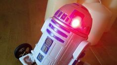 Les Pounder shows you how to build your own remoted controlled R2 D2 with the Raspberry Pi Zero. Beep boop!