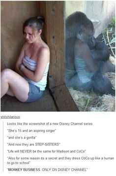 More Disney Channel CRAP  I wouldn't be surprised if this is where it goes