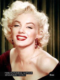 Marilyn Monroe, glamour, sensualidad y estilo.