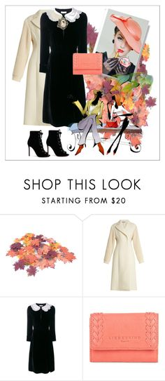 """On a date"" by m-kints ❤ liked on Polyvore featuring Sportmax, Altuzarra, Liebeskind, Gianvito Rossi and collared"