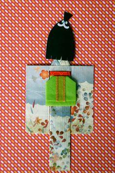 My kimono paper doll....this is so cool Deveta!!!