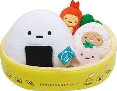 NEW Soft Stuffed Toy Big Lunch Container Sumikko Gurashi Animal Plush MR92001 | eBay