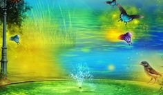 http://www.wshdwallpapers.com/wallpapers/artistic/magical-animal-painting.html