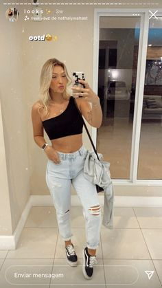 Cute Casual Outfits, Chic Outfits, Summer Outfits, Girl Outfits, Fashion Outfits, Going Out Outfits, Girl Fashion, Womens Fashion, Everyday Fashion