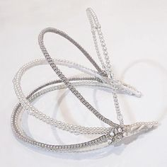 Serre-tête ARC Headband ARC Arc, Bracelets, Silver, Jewelry, Fashion, Alice Band, Accessories, Moda, Jewlery