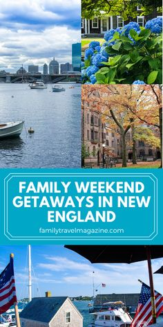 Whether you are looking for a quick day trip, or a longer weekend getaway, here are some great family weekend getaways in New England that would be perfect for a summer trip. Family Weekend, Weekend Trips, Weekend Getaways, Day Trip, Winter Sun Destinations, Travel Destinations, Great Places To Travel, New England Travel, Canadian Travel