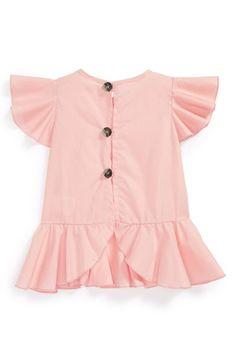 Holt and Lulu 'Petal' Blouse (Toddler Girls & Little Girls) | Nordstrom