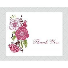 Thank You Printable Cards For Girls