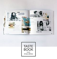 Editorial Design Inspiration: Taste Book