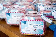Lembrancinha Maleta - Festa de Aniversário Infantil Avião