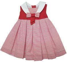 Vestidos en rojo-blanco