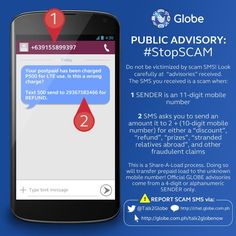 Globe issues advisory on TEXT Scams
