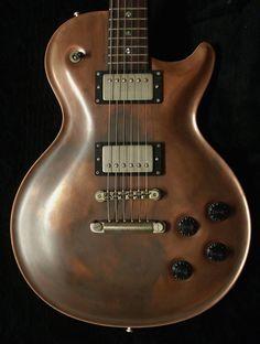 """Nik Huber Guitars  Orca in """"Copper Code"""""""
