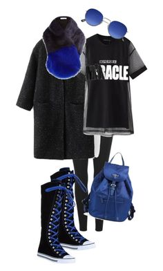 """Street Style"" by viktoria-kot ❤ liked on Polyvore featuring adidas Originals, Prada, WithChic, Chicnova Fashion and River Island"