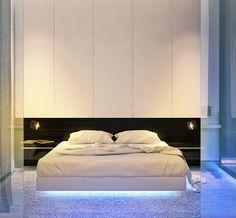 """Российский homify опубликовал наш проект в своей статье """"Бра над кроватью в спальне: идеи и фото"""" (От Dmitriy Khanin)"""