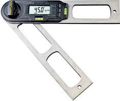 Starrett CP505E-12 Aluminum Electronic Combination Protractor, 12in 161067