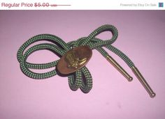 60 Off Sale Vintage Cowboy Boots Bolo Tie by MICSJWL on Etsy, $2.00