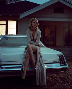 January Jones Vogue Italia August 2014