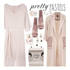 Pretty Pastels by beebeely-look on Polyvore featuring Topshop, Steve Madden, Refuge, Fresh, pastels, streetwear, statementshoes, StreetChic and twinkledeals