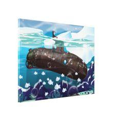 Victorian Submarine Arctic Adventure