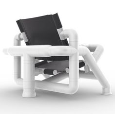 KENNETH SMYTHE CHAIR DESIGN PUTS PVC PIPE TO BEAUTIFUL USE