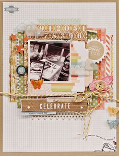 My Initial Inspiration is: Celebrate by Jen Jockisch at Studio Calico #StudioCalicoPinToWin