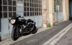 Moto Guzzi V11 Cafe Racer by Greaser Garage #motorcycles #caferacer #motos…