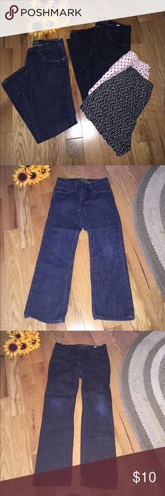 🌻BOYS GAP JEANS SIZE 12 JCREW BOXER SHORTS🌻 Two pairs of boys size 12 husky jeans. One skinny, one straight. Excellent like new condition. One pair of J.Crew heart boxers tagged a size 14. (12 inches across) One pair of Old Navy shark boxers tagged a size small (men's - 13 inches across). Both pairs loved but in good condition. Comes from smoke free, pet friendly home. No trades and no model. GAP Bottoms Jeans