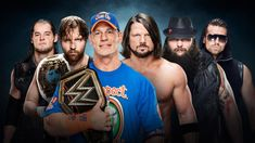 WWE Elimination Chamber 2017 main event