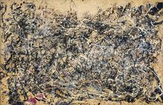 Jackson Pollock - Number 1, 1948, the museum holds untitled works from 1946, 1943, 1953 and 1950