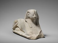 Sphinx of Amenhotep II  Period:     New Kingdom Dynasty:     Dynasty 18 Reign:     reign of Amenhotep II Date:     ca. 1427–1400 B.C.