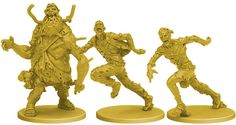Zombicide: Season 3 by CoolMiniOrNot » Updates — Kickstarter Fattie and Skinner Runner Zombies