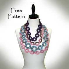 Free crocheting pattern: cirque jewelry