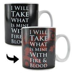 Game of Thrones-Lannister Chaleur Changement Tasse-Changing officiel