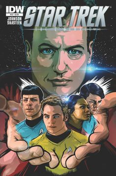 Q Stops By J.J. Abrams' New Star Trek Universe To Make Trouble in IDW's Star Trek issue # 25.