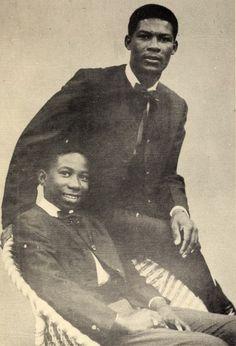 The Clarendonians, Ernest Wilson & Peter Austin. Ernest is the little guy!