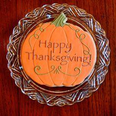 Thanksgiving Cookie Gram by KelleyHartCookies on Etsy https://www.etsy.com/listing/167283035/thanksgiving-cookie-gram