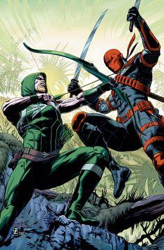 Deathstroke vs Green Arrow Mais