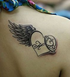 28 Astonishing Angel Tattoo Ideas #TattooIdeasFemale