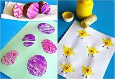 16 jednoduchých nápadů na velikonoční tvoření s dětmi – G.cz Diy And Crafts, Kindergarten, Easter, Jar, Homemade, Tableware, Montessori, Crafting, Image