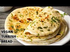 Vegan Chef, Vegan Vegetarian, Turkish Cheese, Turkish Flat Bread, Vegan Essentials, Flatbread Recipes, Vegan Meal Plans, Vegan Bread, Easy Bread